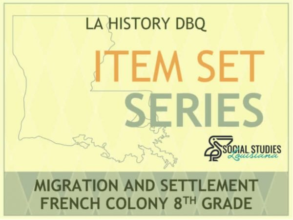 Item Sets: French Colony